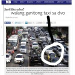 Manila Bulletin Earns the Ire of Netizens for Misleading Photo of Davao Traffic