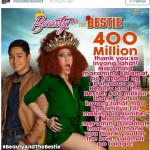 """""""Beauty and the Beastie"""" Earns P400 Million in Box Office Income"""