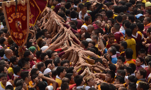 the feast of the black nazarene