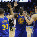 Three Warriors Picked in the NBA All Star Game For the First Time in 40 Years