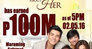 """Everything About Her"" Breaches the P100-Million Mark in Box Office Income"