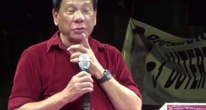 Mayor Duterte Admits He Has Four Ailments But Not Fatal & Willing to Serve the Filipinos