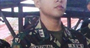 First Lt. Ralph Pantonial Slain by NPA an Achiever During His School Days