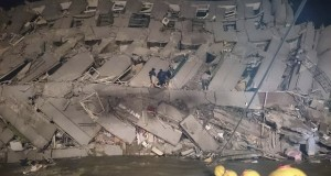 6.4 Magnitude Earthquake Hits Taiwan Topples Building & Injures Residents