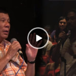 Mayor Duterte Disrespected by Some UP Los Banos Student During a Forum (Video)