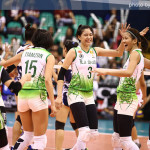 La Salle Lady Spikers Returns to Final Four of the UAAP Women's Volleyball