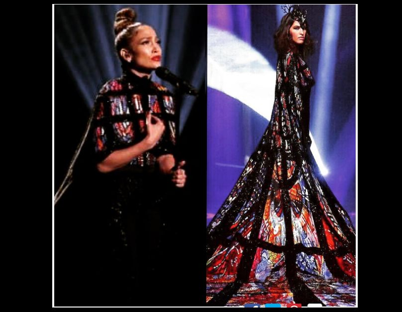 J.Lo wears a stunning gown