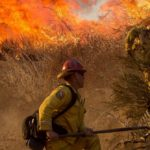 Firefighters Consider California Wildfire Incredible