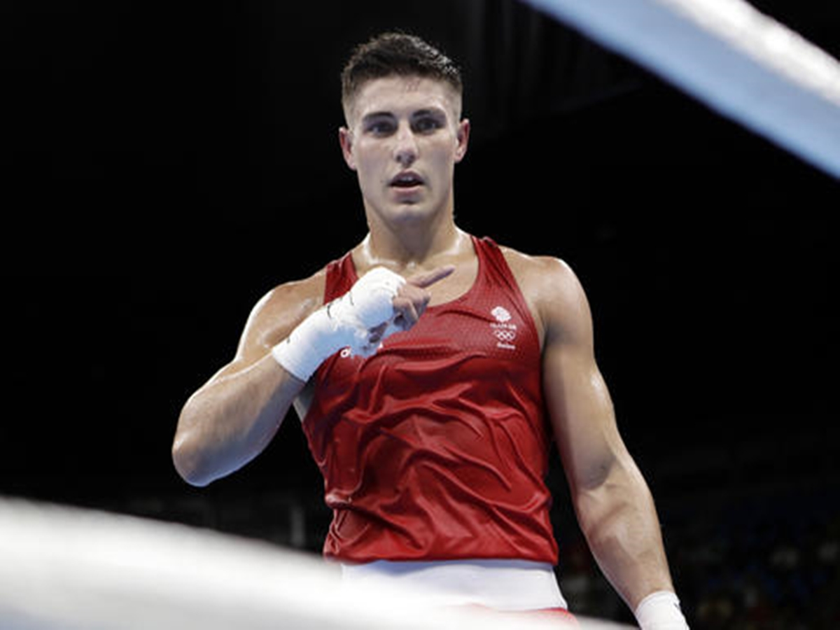 Model Boxer Josh Kelly Sets In The Ring Of Olympics, Brazil