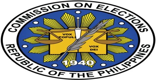 Commission on Elections logo.