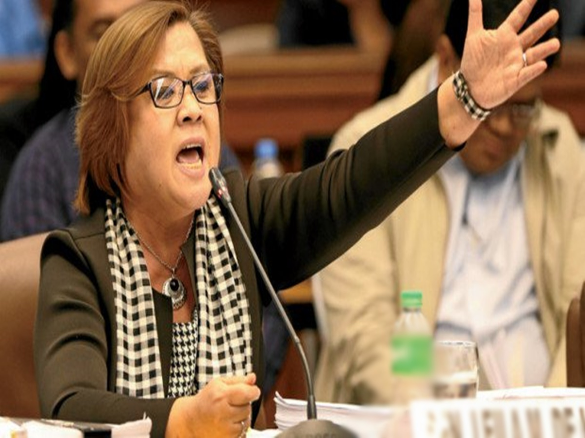 Filipino People Urged By Sen.De Lima To Speak And Expose The Truth