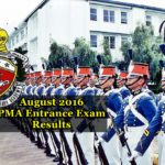 List Of Passers Of The August 2016 Philippine Military Academy Entrance Examination (PMAEE) Results