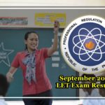 List of Passers Of LET Exam Results September 2016 Teachers Board Exam (Elementary And Secondary)