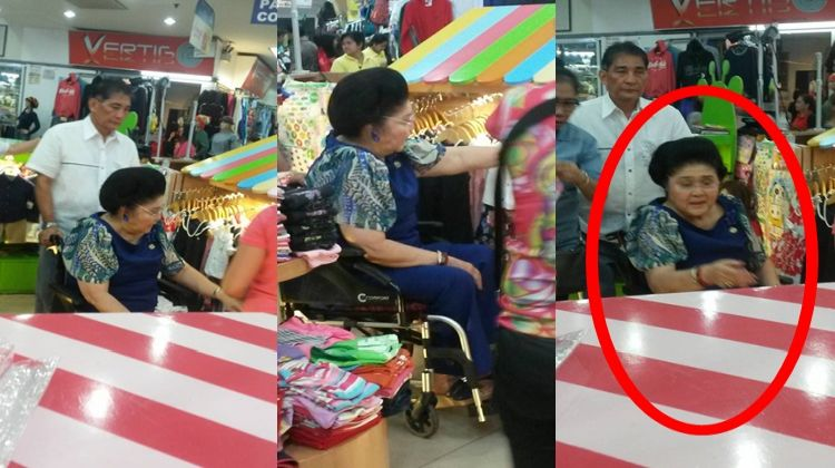 Former first lady imelda marcos spotted in divisoria went for Divisori 169