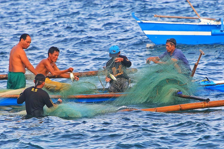 Filipino Fishermen