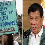 PH Migrant Group Urged Duterte To Send Humanitarian Mission To KSA