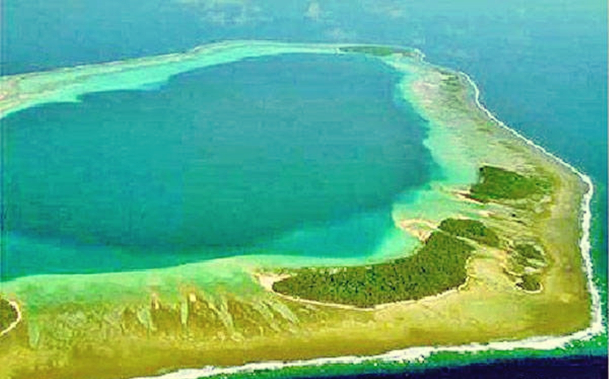 Chinese Reclamation In Panatag Shoal