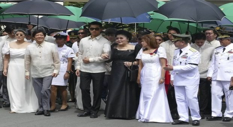 Marcoses vigil at the LNMB