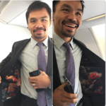 Manny Pacquiao Teases Rematch With Floyd Mayweather