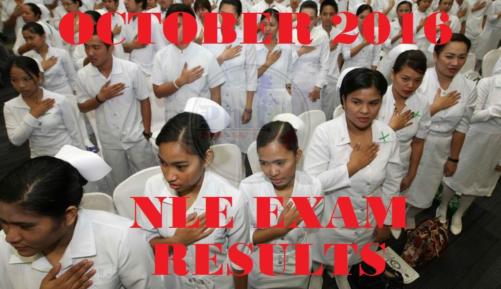 NLE Nursing Board Exam Result