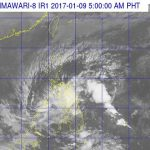 Tropical Depression Auring Makes Landfall, Pounds Visayas