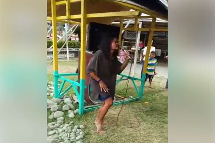 Talented Homeless Pinoy With Highest Version Of 'To Love You More' Goes Viral!