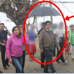 Netizens Slams Vice Governor Jun Bacorro As His Bodyguard Holds Umbrella For Him