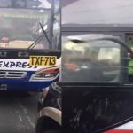 Viral: Road Rage Between An Arrogant Bus Driver And A Motorists