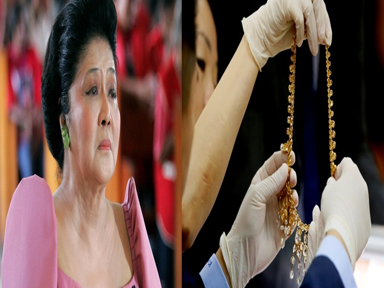 Imelda Marcos' Jewelry Collection