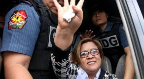 De Lima: 'It's An Honor To Be Jailed'
