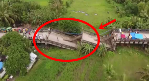 Watch: Aerial Footage From Surigao City Shows Devastation After Earthquake