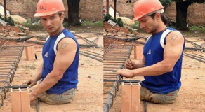 Inspiring: Hardworking Legless Construction Worker Earns Praises From Netizens