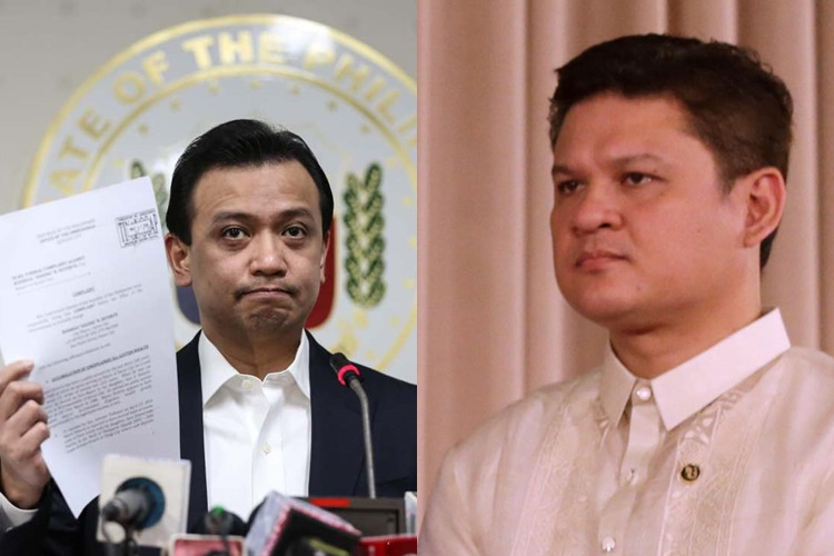 Look: Paolo Duterte Slams Trillanes For Another Accusation Against His Family