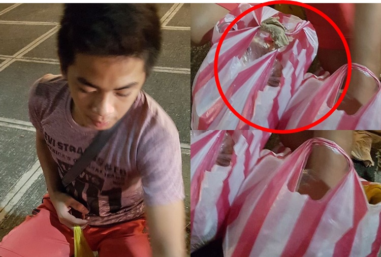 Young Kamote Vendor caught the attention of the Netizens