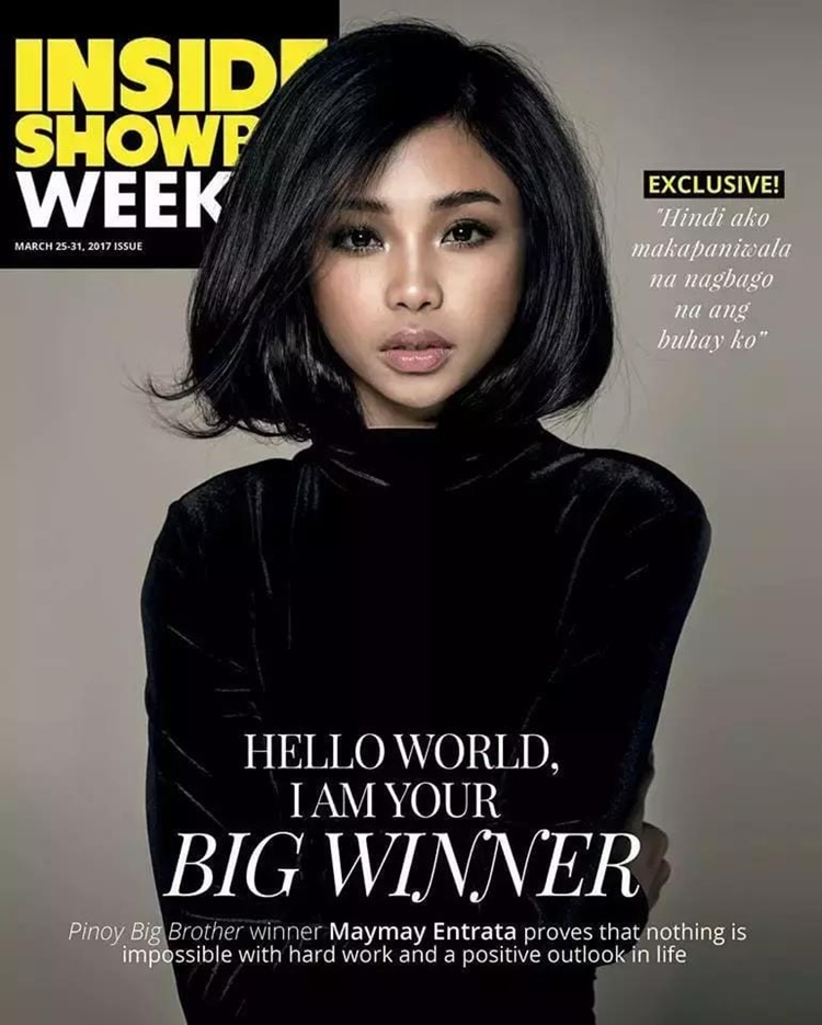 pbb winner maymay entrata stunned netizens on new photos for