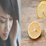 Instantly Stop Symptoms Of Migraine With Salt, Lemon