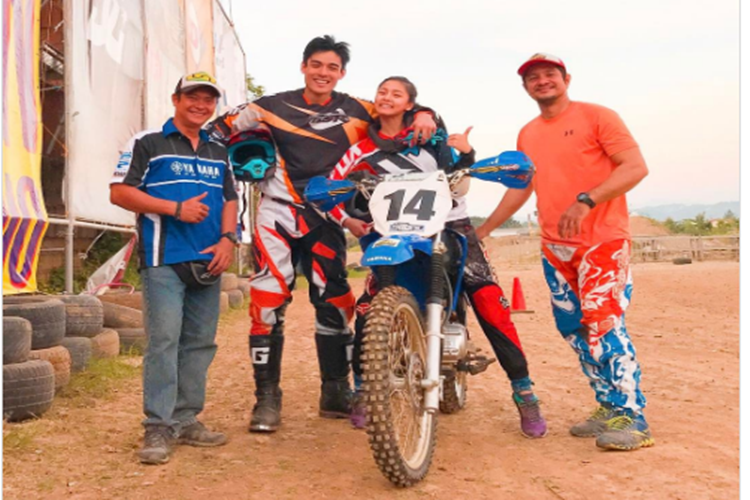 Xian Lim Introduces Motocross To Kim Chiu