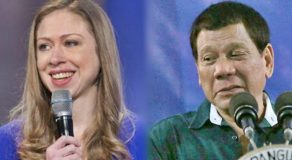 Clinton Daughter Slams Duterte Over Malicious Joke