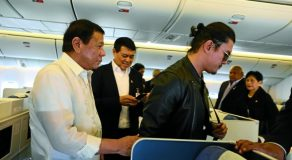 Baste Duterte Joins Father's Presidential Trip To Russia