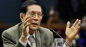 Juan Ponce Enrile Gives Clearer Understanding About Martial Law