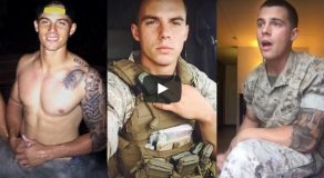 You'll Surely Fall in Love With This Handsome Marine as He Sings a Heart-Melting Song