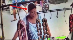 Unbelievable Trick Of This Lady On Vendor Caught On Camera