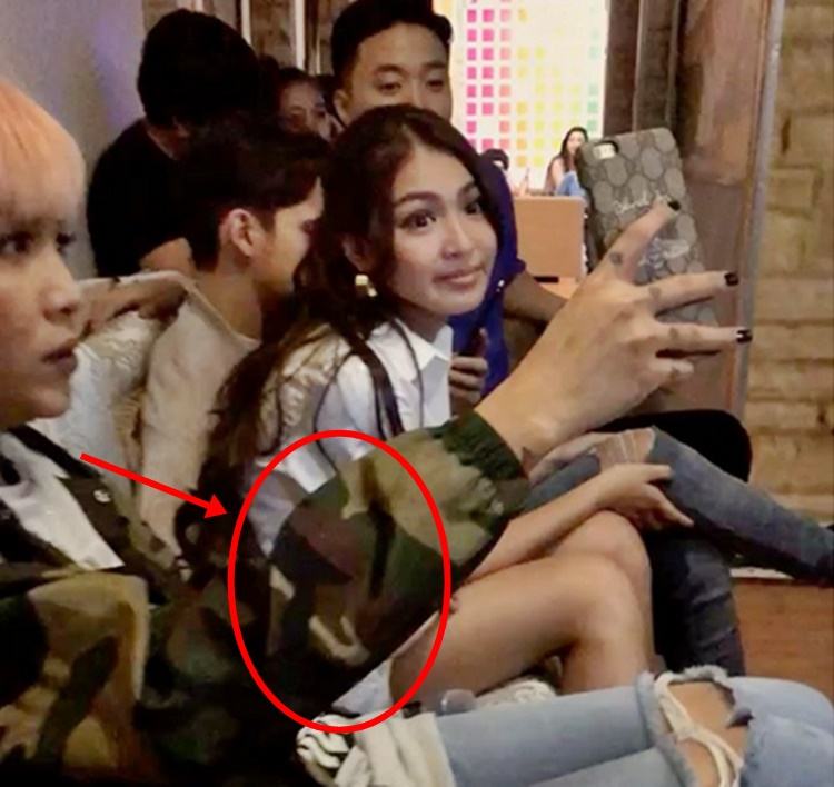 vice ganda holds james reids hand while nadine lustres