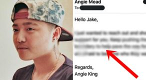 Jake Zyrus Receives Message From Angelina Mead King