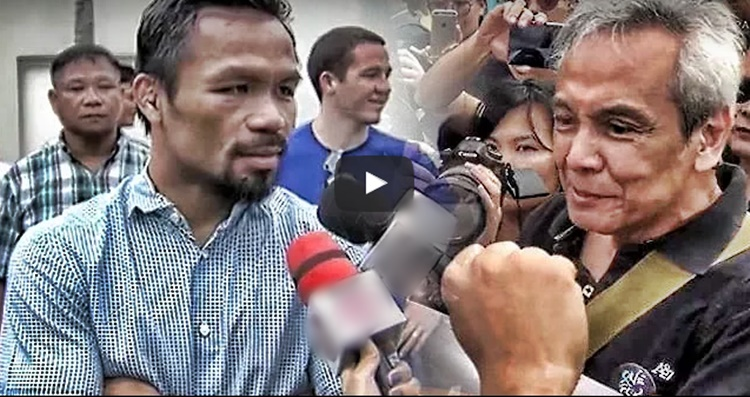 Jim Paredes Breaks Silence On Alleged Scandal Video: Manny Pacquiao Reacts To Jim Paredes' Twitter Posts Over