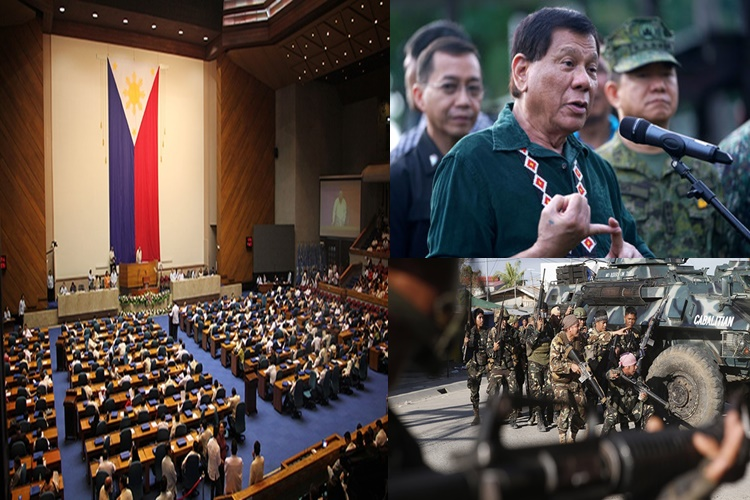 Duterte's Request Of Martial Law Extension In Mindanao Approved By