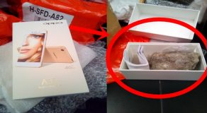 Popular Online Shopping Site Allegedly Sends Rock To Client Instead Of Smartphone