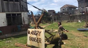 Marawi Soldiers Use Angry Birds Slingshot To Throw Grenades, Save Lives