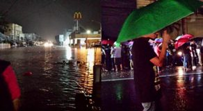 Flood Hits Bacolod City Due To Heavy Rain Brought By Southwest Monsoon