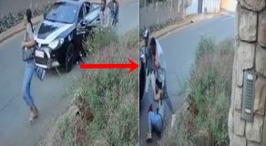 Female Student Taking Master's Degree Fought Robbers To Save Thesis